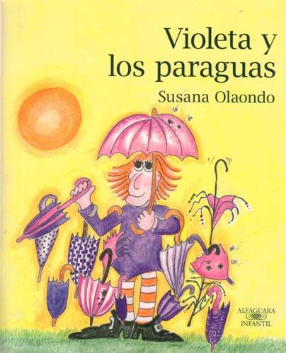 violeta y los paraguas - susana olaondo
