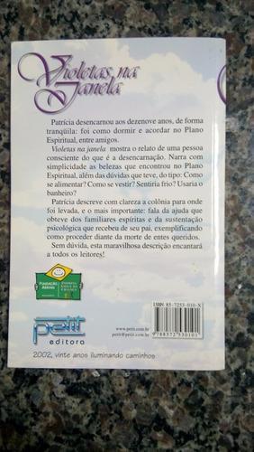 violetas na janela - vera lucia marinzeck de carvalho (livro