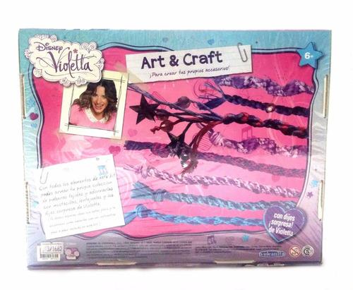 violetta diseña tus pulseras y colgantes jugueteria aplausos