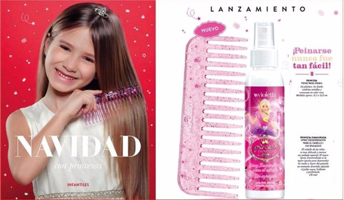 violetta fabiani - princesa enamorada spray para el cabello