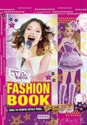 violetta: fashion book, en concierto(libro infantil)