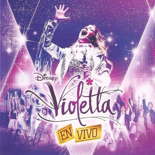 violetta lote de 6 cds y 3 dvd sellados 100% originales
