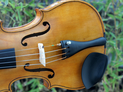 violin 1940 4/4 eastman, estuche y arco made in usa