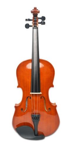 violín 3/4 color natural con estuche marca orich