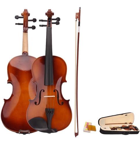 violín 3/4 marca brithney con accesorios nuevos 2018
