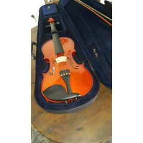 Violin 4/4  Con Afinador Electronico Y 4 Cuerdas En Paquetes
