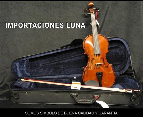 violin 4/4, 3/4 de dulce melodia con estuches, arco afinador