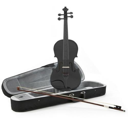 violín 4/4 color negro con estuche precio de costo!!