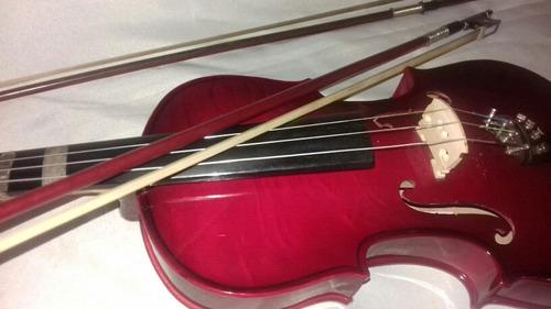 violin 4/4 color rojo