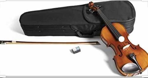 violín 4/4 con arco y recina $4.000