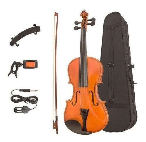 violin 4/4  epic con estuche y afinador
