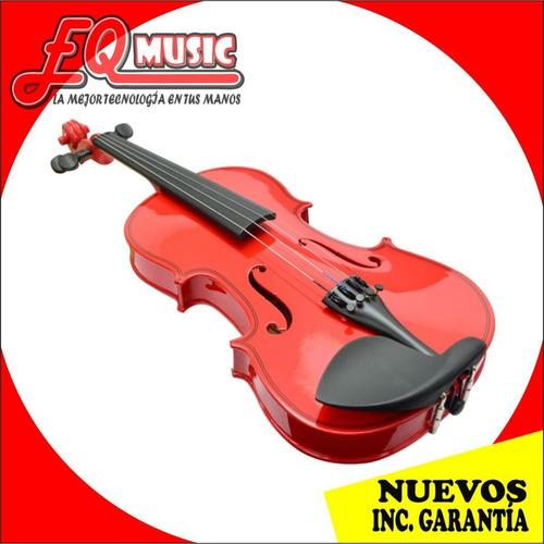 violin 4/4 excelente calidad c/estuche/arco/resina de paquet