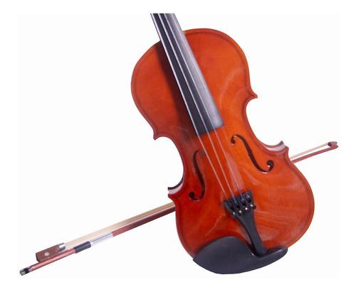 violin 4/4 incluye arco brea estuche acustico varios colores