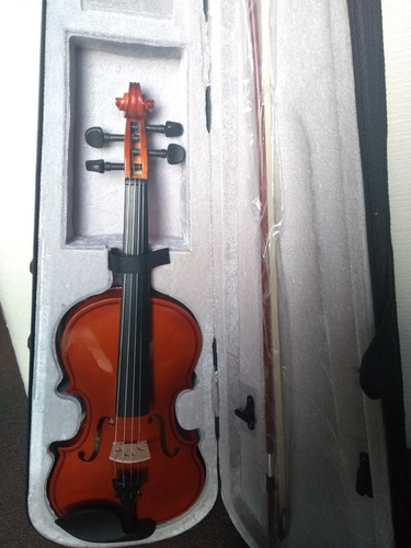 violin 4/4 palatino con estuche excelente estado