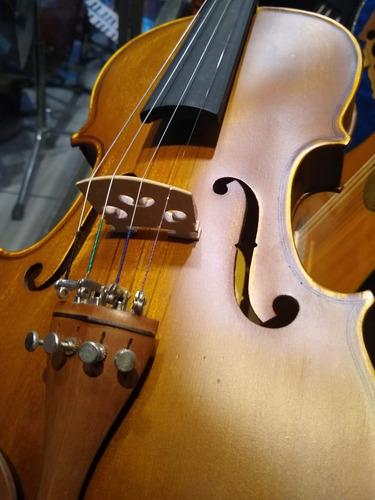 violín 4/4 palatino sv1414a semi profesional estuche arco fm