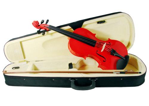 violin 4/4 para estudiente con arco y estuche audiomex