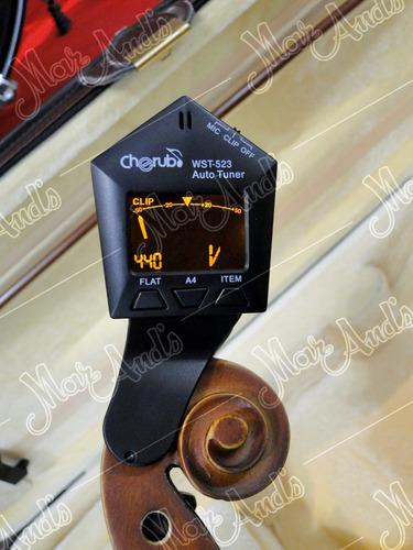 violín 4/4 parquer vl900 completo + afinador + envio