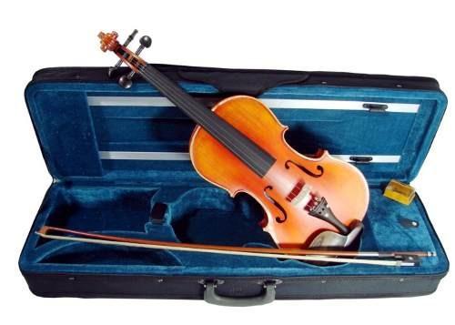 violin alta calidad 4/4 semiprofesional estuche audiomex