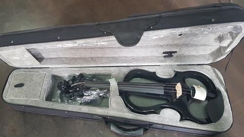 violín eléctrico 4/4  con estuche nuevo!!!