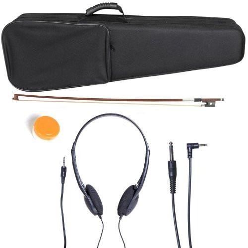 violin electrico cecilio distintos estilos accesorios