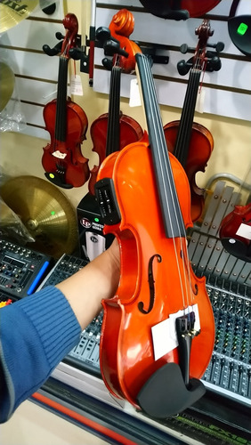 violin electrico electroacustico amplificado (leer descripc)