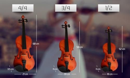 violin importado, accesorios, fino acabado, (d-carlo)