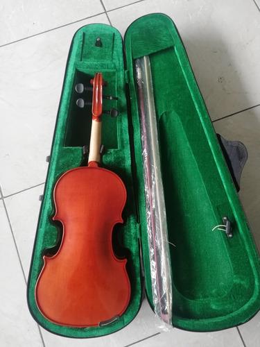 violin nuevo con estuche