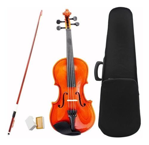 violin primer 3/4- 4/4 con estuche y accesorios
