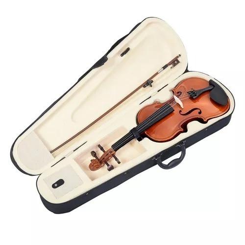violín verona 4/4 microafinacion arco colofonia envio gratis