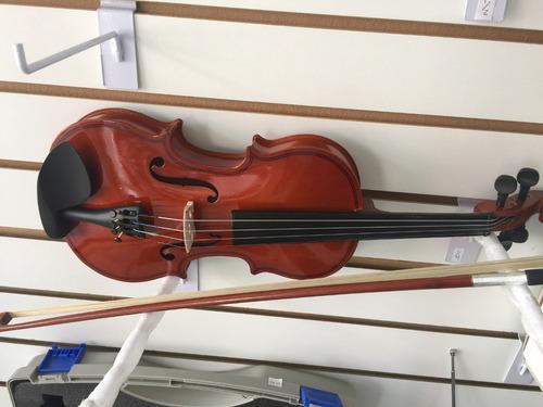 violín verona de 1/4 con estuche arco y brea