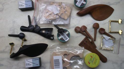 violin, viola, arcos y accesorios