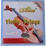 Juego De Cuerdas Para Violin Alice A703 Precio Al Mayor