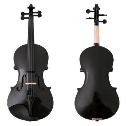 Violines Verona Negros 1/4 Nuevos Maderas Finas Violin