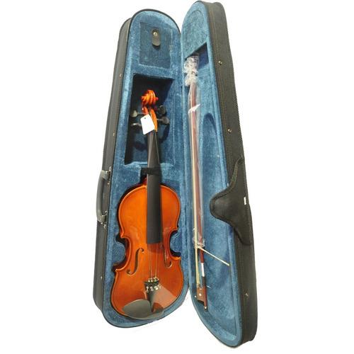 violino 3/4 completo standard ambar dv11 com case guarneri