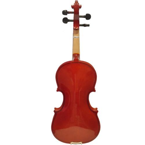 violino 3/4  guarneri completo dv11 dark ambar estojo luxo