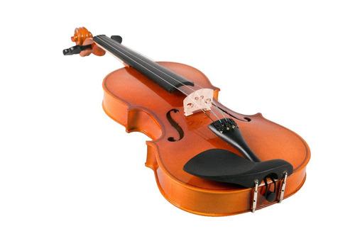 violino 4/4 makanu envernizado estojo breu afinador
