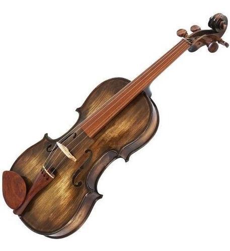 violino 4/4 rolim envelhecido fosco série especial artesanal
