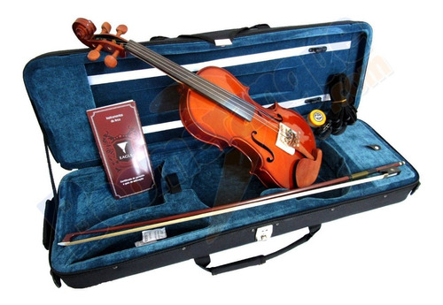 violino 4/4 ve441 eagle estojo case breu arco mais vendido