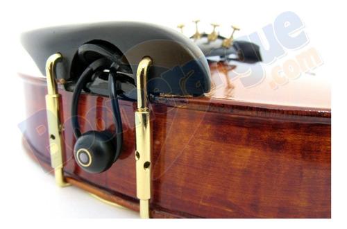 violino acústico 4/4 vk644 eagle + case espaleira breu