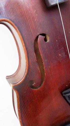 violino antigo 4/4 madeira nobre em ótimo estado com caixa