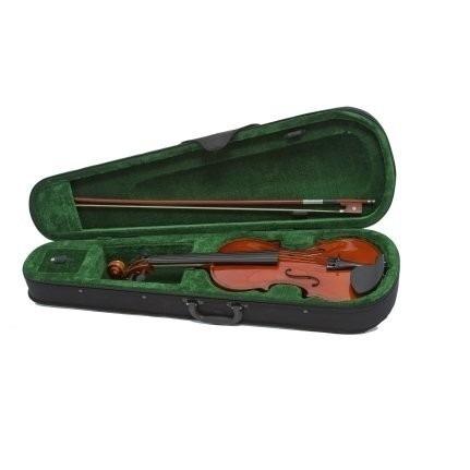 violino estudante 4/4 sv start giannini c/ arco genuíno breu