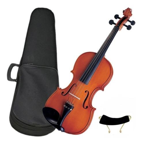 violino michael 4/4 vnm40 + estojo luxo superior eagle 441