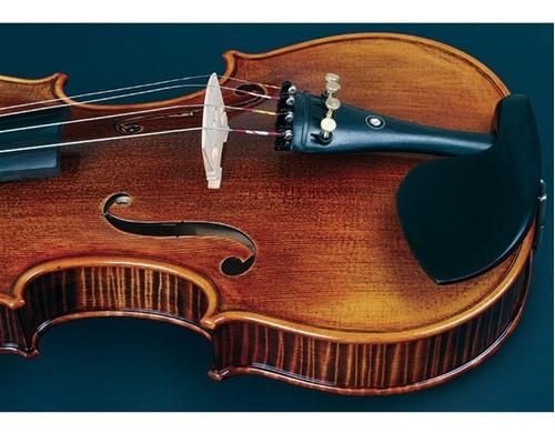 violino vk544 4/4 envelhecido eagle com estojo espaleira