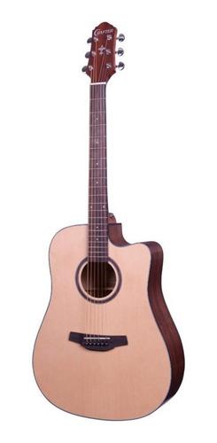 violão aço folk crafter hd100 ce tampo spruce elétrico
