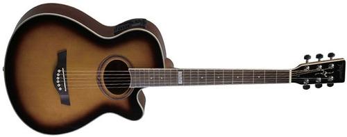 violão aço tagima dallas sb - sunburst - vl0103