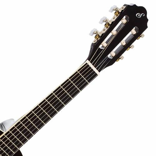 violão acústico estudo infantil 3/4 preto n6 start giannini