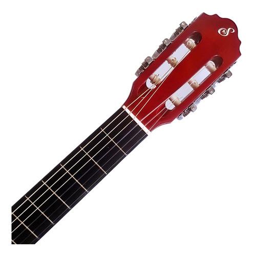 violão acústico giannini nylon start n-14 natural com capa promoção!