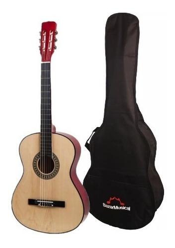 violão capa nylon estudo acústico simples barato classico