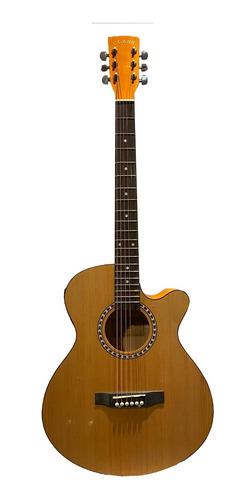 violão class natural cla 40 ce n