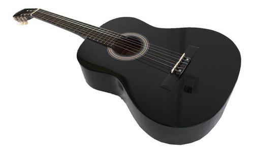 violão csr 851t preto (c/tensor) eletrificado c/ capa e cabo